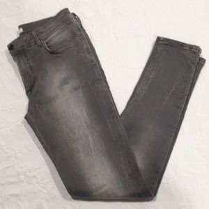 Burberry gray skinny jeans -Girls 12Y